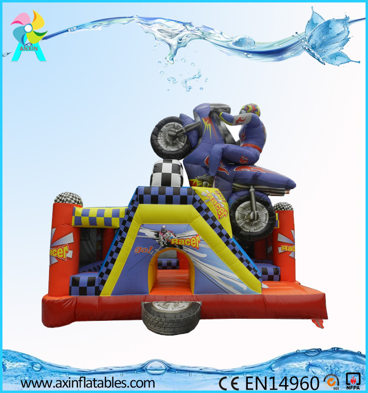 Factory Supplier inflatable bouncer slide for sale With Long-term Service