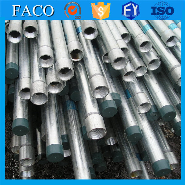 Tianjin gi pipes ! hot galvanized scaffolding tube galvanized water well screen pipe