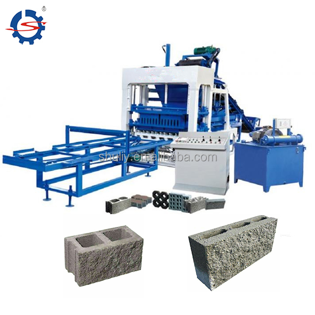 Automatic Fly ash hollow baking-free brick machine cement block machine