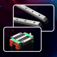 metal slide linear guideway slide rail ball bearing