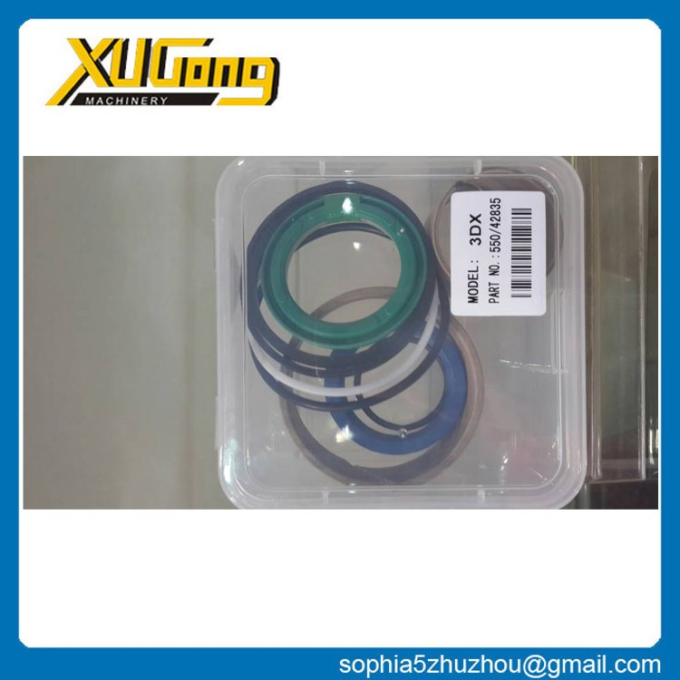 3DX / 3DX SUPER / 3DXL-2006 550-42835 engine rubber seal kit for JCB excavator spare parts with low price