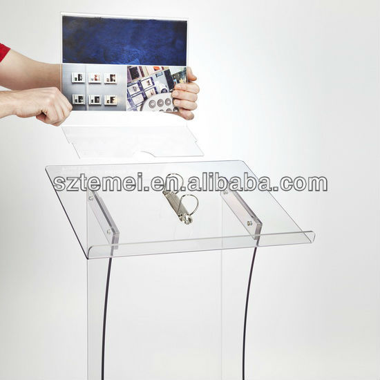 Acrylic Brochure Display Merchandiser