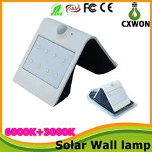 Wholesale Waterproof IP65 solar sensor led wall light 1200MA ...