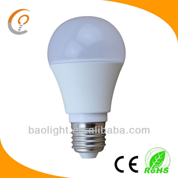 2014 hot sale bombilla led 7w 12v dc b22 led lamps 230v e27 e26