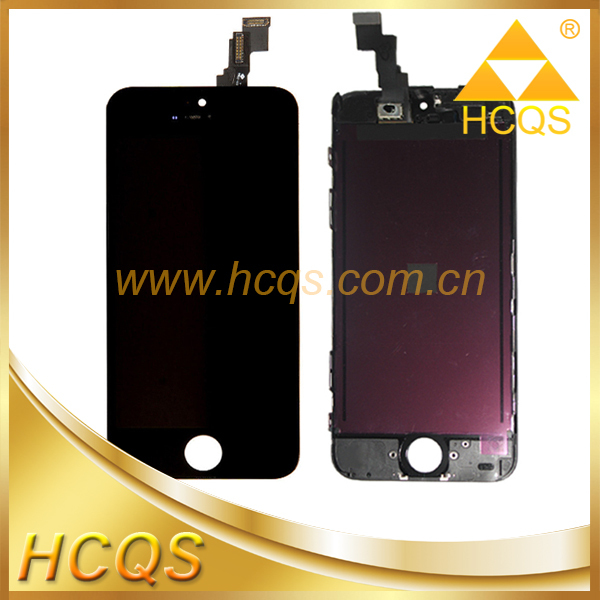 China mobile recycle broken lcd, low price lcd display touch screen for iphone 5c