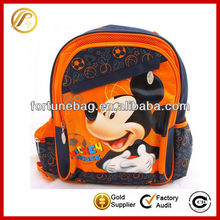 Cute cartoon character school bags for teenage