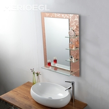 China top popular style selling bathroom toilet wash dressing mirror
