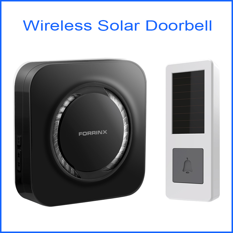 Wireless 300M Range Remote Control Smart Solar Doorbell For Home and apartment