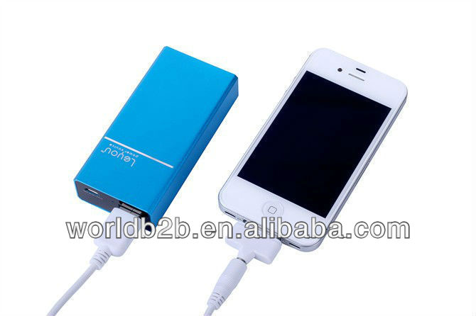 5000mAh Power Bank Portable Charger for Mobile Phones, 2013 new products on market
