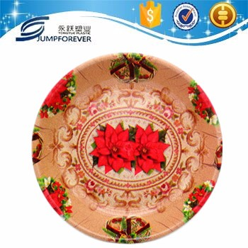 Durable Using Durable Design Round Banquet Serving Tray