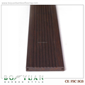 high quality used dark color strand woven bamboo flooring in horse barn
