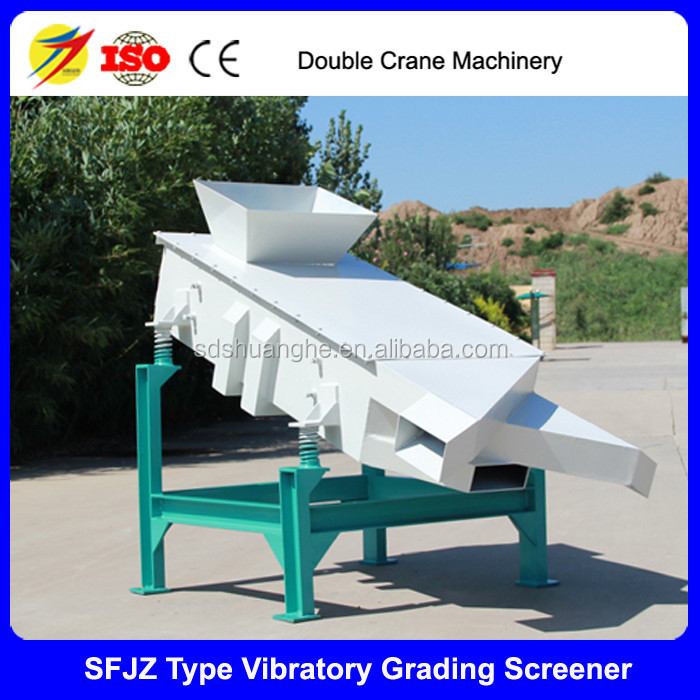 2017 high screening efficiency vibration screener/vibratory grading screener for sale