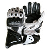 AL Octane Sp-Moto Men's Leather Street Racing Motorcycle Gloves 2014