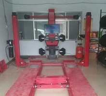 Chinese 4 Post Hydraulic Lift For Car Wheel Alignment