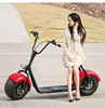 Manufacture 80km range 2 big wheel with double seat 110cc gas powered scooter motorcycle with alloy wheels/diesel motorcycle eng