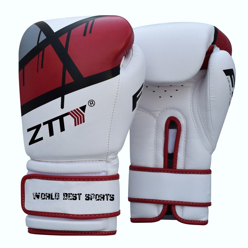 cheap Boxing Training Gloves 8 10 12 14 16 oz fitness Fighting
