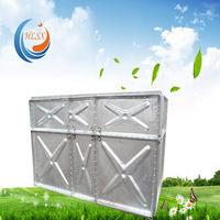 Factory price!Hot dip galvanizing bolt water tank for industrial/farm/fish application