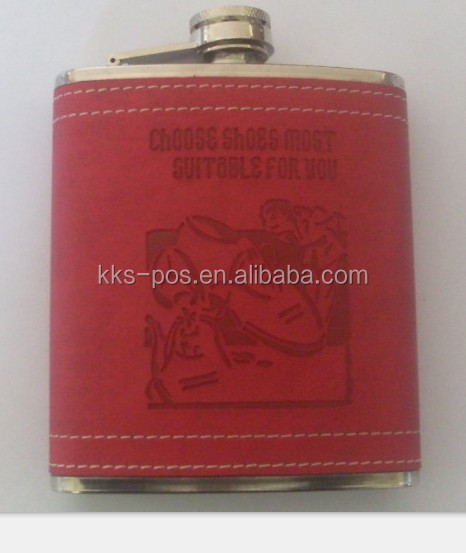 8oz Stainless Steel Promotional Hip Flasks Gift