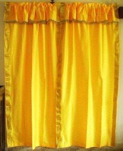 pole oberste gelbe sari vorh nge gardine produkt id 223627239. Black Bedroom Furniture Sets. Home Design Ideas