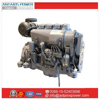 4cylinder air cooled Deutz diesel engine F4L912 for bell equipment