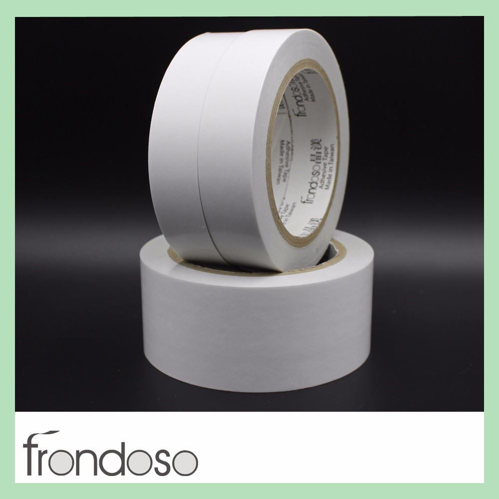 Jumbo Roll Paper Double-Sided Adhesive Tape with Great Adhesion