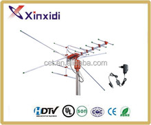 Remote Controlled Rotating Outdoor TV Antenna with 10m 3C-2V Coaxial Cable