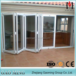 New design kerala glass door aluminum glass folding door door price