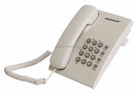 Cheap Corded Telephone Analog Basic Phone for Hotel Home