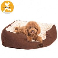 Hot selling Coffee plush pet house