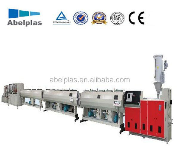 PE Water Feed Pipe Machine/PP Supply Pipe Machine/PE Tube Machine