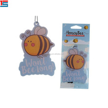 Promotional Hanging Paper Air Fresheners for Car