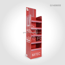 5 Tiers Floor Stand Cardboard Display Shelf for Cell Phone Case