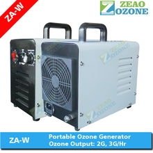 Daily cleaning odor removal bacteria free portable air ozonator for hotel room