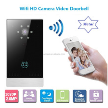 New Arrival Home Security Metal WiFi IP Video Door Phone With Android IOS App Remote Unlock Smartphone Doorbell