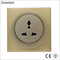 3 Pin Hotel Universal Socket Power