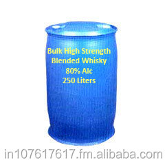 Bulk High Strength whisky in HDPE Barrels