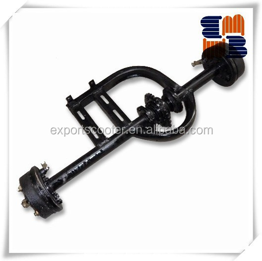 Auto rickshaw tricycle spare parts big differetial rear axles