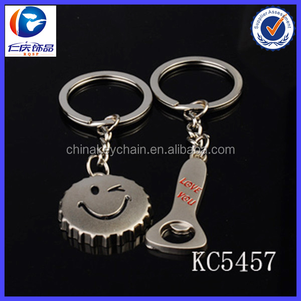 New keychaincheap cool bottle opener keychains