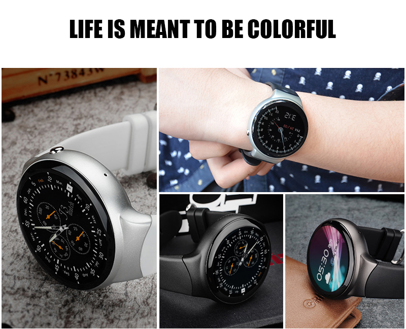 High Quality OLED screen Bluetooth 3G WIFI Smart Watch 2017 With CE RoHs