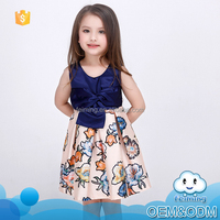 2016 innovative product summer frock designs comfortable girls party wear latest fashion fancy baby dress pictures