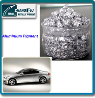 Car protection spray silver effect alu paste non leafing