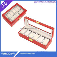Dongguan factory price derectly professional made women watch box