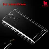 For Lenovo K5 Note transparent normal back cover Alibaba wholesale crystal mobile phone case factory China clear mobile case