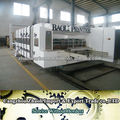 Full automatic high speed flexo ink printer slotter die cutter machine , packaging for corrugated carton box