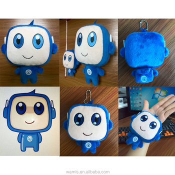Corporate Image advertisement toys gift Sample customize promotion plush stuffed gift manufacture in china
