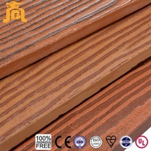 Waterproof fiber cement board wood grain types of siding