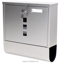 Australia 304 rustproof stainless steel letterbox concrete post fence