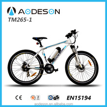 250W mountain electric bike with 21speed derailleur(TM265-1)and suspension fork