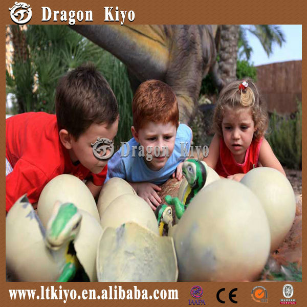 Have fun with high quality simulation dinosaur hatching eggs