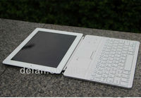 Aluminum Bluetooth Wireless Keyboard for Apple New iPad 4 3 3rd 2nd 2 Gen PC